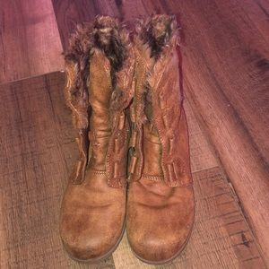 Stevies brown boots